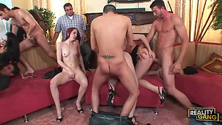 Wild Orgy Fun With Horny Guys A Sexy Ladies