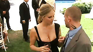 One of the guests fucked bride