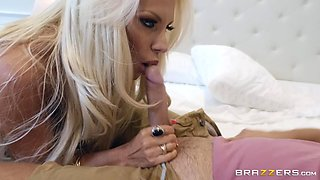 sexy milf with huge tits likes sticky cum