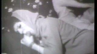Black & White Vintage Blowjob