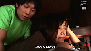 Japanease Mature Woman get fucked by her Step Son (Eng Sub)