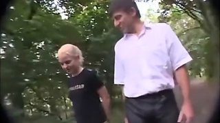 Innocent German Teen Face Covered In Cum In Public