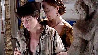 Jemima Westg nude scene- The Borgias s02e01-02 (2012)