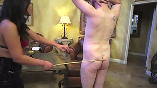 mistress nikki brooks and astro domina caning slave