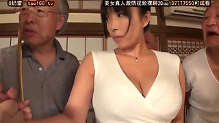 NITR 170 japanese milf fuck by old man gangbang