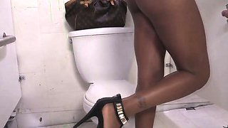 Karma May At A Gloryhole In Her First Interracial Scene