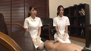 Japanese Femdom Nurse Fisting And Anal