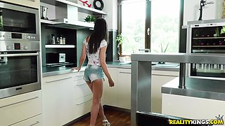 Lilu is a skinny brunette beauty who cannot wait to be ravished