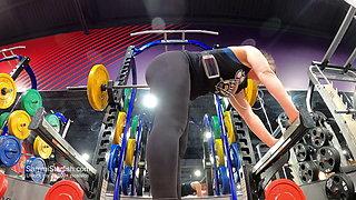 Insanely Transparent Gym Leggings