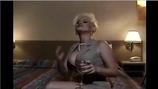 Ajx bbc classic vs blonde in motel