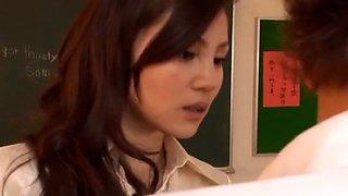 Best Japanese chick Ameri Ichinose, Erika Kurisu in Amazing Fingering, Swallow/Gokkun JAV scene