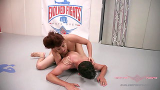 Gabriella Paltrova gets into rough and tumble match with Jay