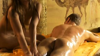 Blonde Lady Gives The Best Turkish Massage To Her Lover