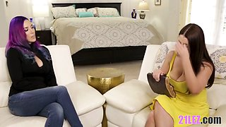 Hot witch Jelena Jensen and the disappointed wife Angela White