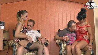 German amateur housewife swinge orgy