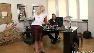 Kathia Nobili Office sex