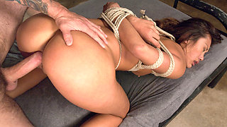 Alina Li & Tommy Pistol in 19 Year Old Punished Foreign Exchange Slave - SexAndSubmission
