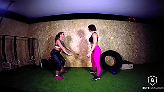 Bianca Resa in Bianca Resa's workout - ButtFormation