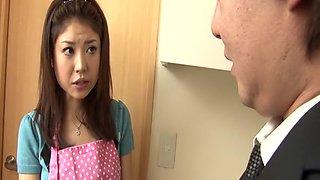 Exotic Japanese slut Mafuyu Hanasaki in Horny JAV uncensored Dildos/Toys clip