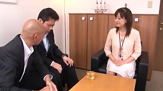 Best Japanese girl Ai Komori in Amazing Secretary JAV movie