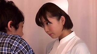 Fabulous Japanese slut in Amazing Stockings, Cunnilingus JAV movie