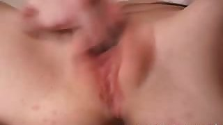 gamey emo bitch loves to drill her clit with a vibrator