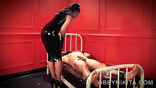 Mistress nikita unlocked stroked denied