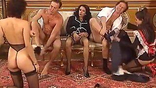 Vintage hardcore foursome