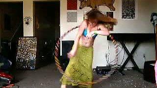 Hoopy girl..