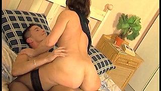Hungarian Granny fucking hard