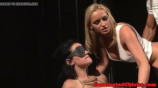 dominated beauty punished by femdom