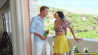 Horny Stud With Giant Cock Bangs Babe O With Danny D, Busty French And Julia De Lucia