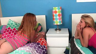 Step Daughters Hope and Alyssa IMPALED by Daddy