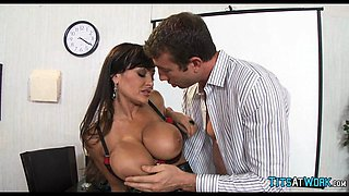 MILF Lisa Ann at the Office