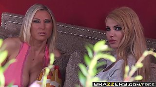 brazzers - mommy got boobs - mommy sandwich scene starring d
