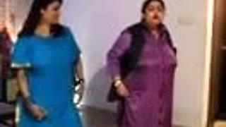 Indian aunty dances