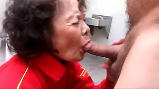 Honey Granny Sucking Cock And Making Cock Dry