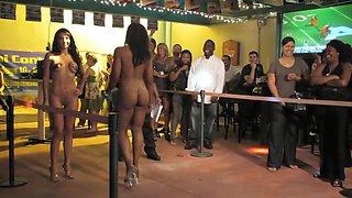 Nude Fashion Weekin The Pub Micro Bikini Full Final 8