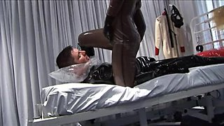 Breath Play In Latex And Pvc