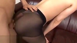 Japanese best pantyhose sex with hot babe