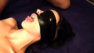 Blindfolded slut gets pounded deep and rough in every hole