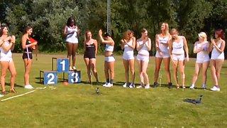 International championshi of peeing girls