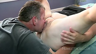 Amature Licks His Arse And Gets Her Arse Ripped Before Taking Creampie