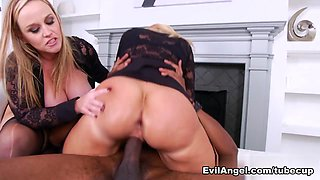 Dee Siren & Naughty Alysha & Sean Michaels in Anal Buffet #11 Video