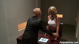 Paige Ashley gets punished by Marcus London for