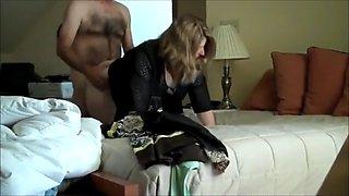 Naughty amateur mom fucks her boss for promotion