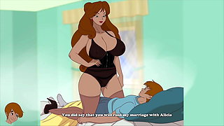 Milftoon Drama - Mother in Law wants to fuck her son in law