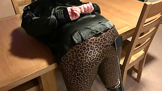 British Housewife Gets Her Slutty Ass Spanked.
