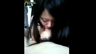 blowjob by a chinese girl-next-door