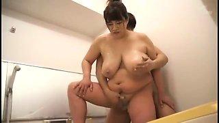 Massive Big Busty Boobies On Japanese BBW